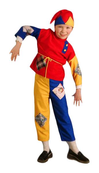 Карнавальный костюм Бока Клоун, цв. разноцветный р.104