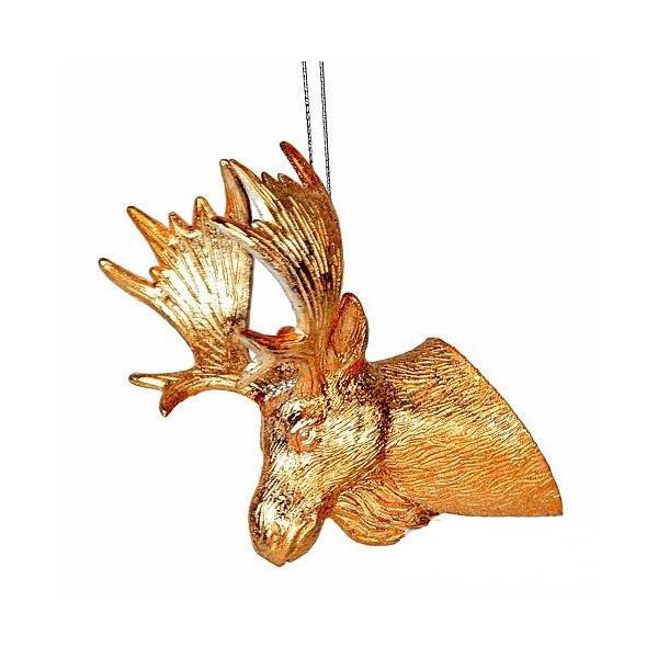 Елочная игрушка Голова Лося 12 см, подвеска 867617