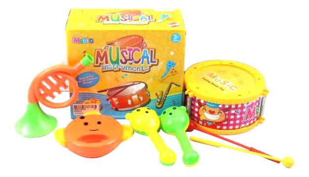 Купить Набор музыкальных инструментов детских Shantou Gepai 6566Q-4, Детские музыкальные инструменты