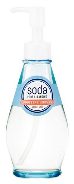 Купить Гидрофильное масло Holika Holika Soda Tok Tok Clean Pore Deep Cleansing Oil 150 мл