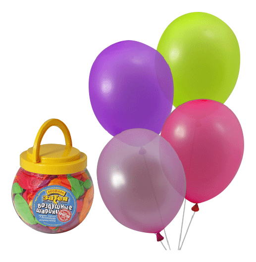 Набор шаров Gemar Balloons Неон 200 шт.