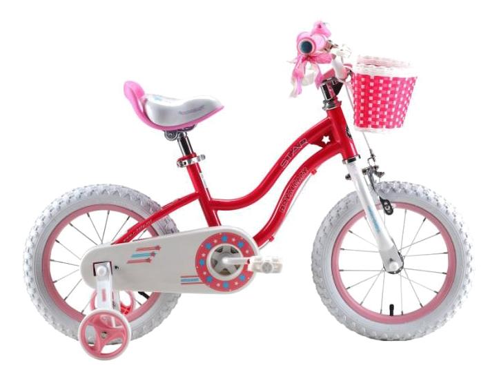 Купить Велосипед двухколесный Royal baby Stargirl (6954351400436) 16 малиновый, Детские двухколесные велосипеды