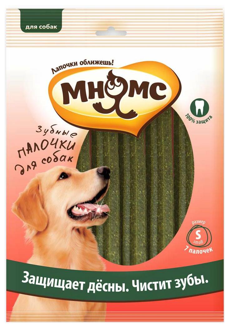 Лакомство для собак Мнямс Зубные палочки, с эвкалиптом, 12см, 120г