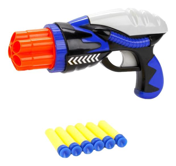 Купить С мягкими пулями, Бластер Играем Вместе с мягкими пулями B1604685-R, Бластеры