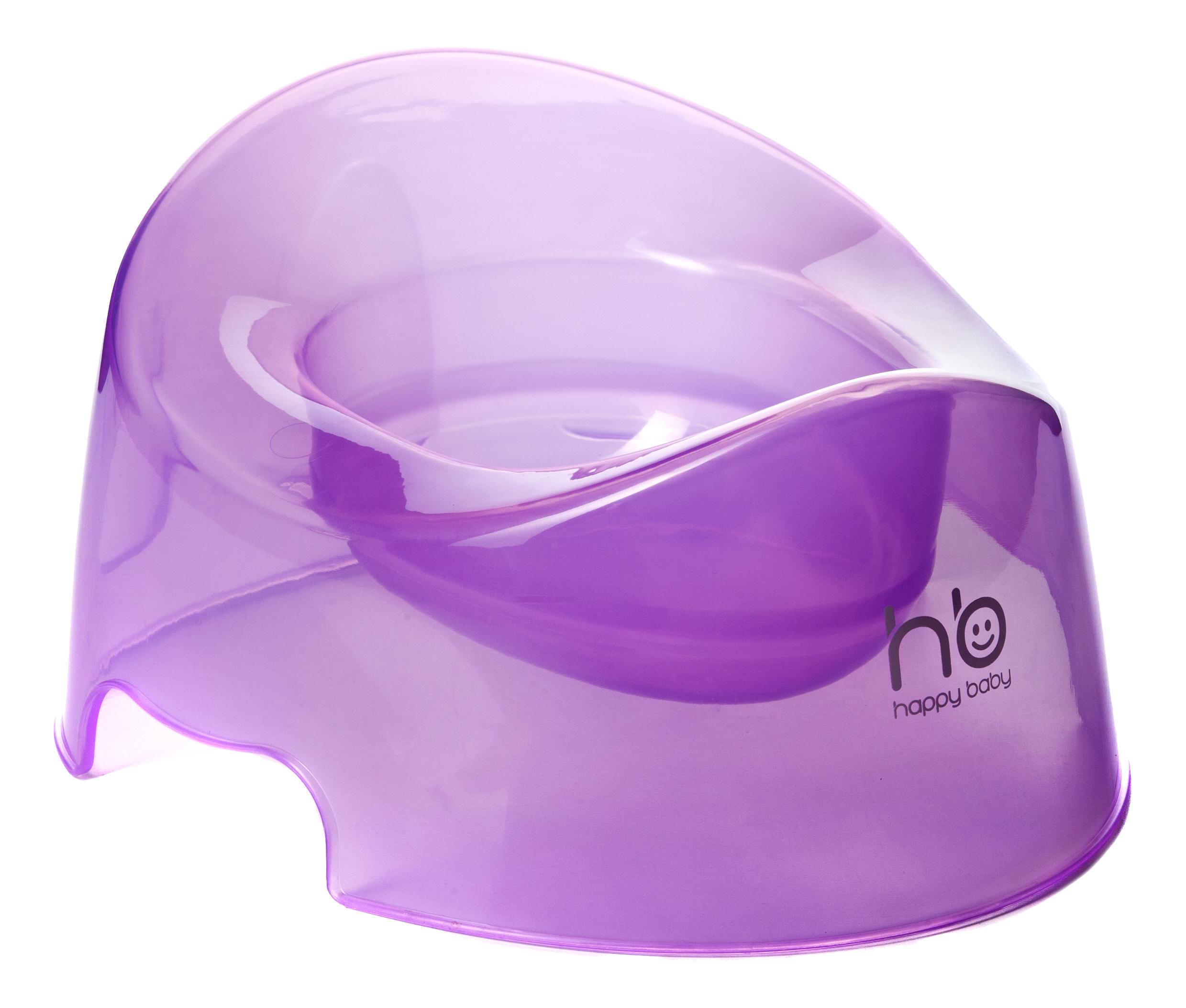 Купить Горшок детский POTTY violet Happy Baby, Горшки детские