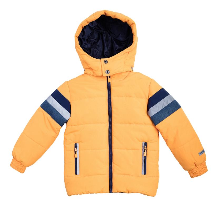 Купить Куртка оранжевая 104 размер, Куртка Play Today Команда роботов оранжевая р.104, Детские зимние куртки