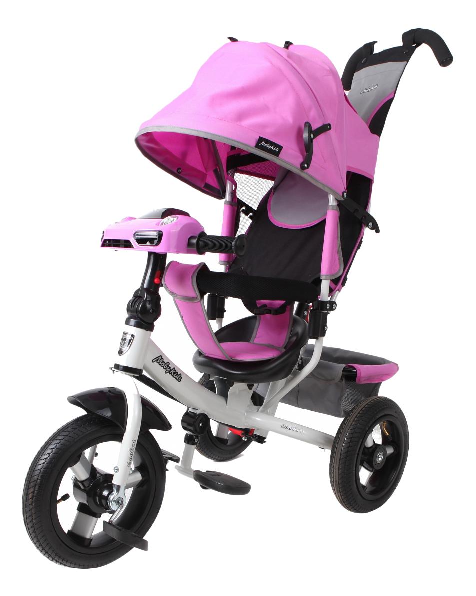 Велосипед трехколесный Moby Kids Comfort Air Car 2 лиловый