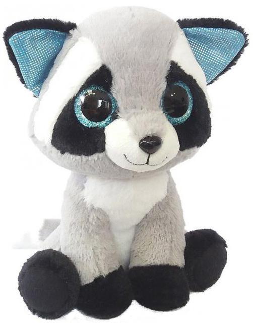 Купить Енот глазастик 20 см, Мягкая игрушка Fancy Енот Глазастик 20 см Geo0S, Мягкие игрушки животные