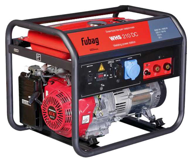 Бензиновый генератор Fubag WHS 210 DC Honda_220В