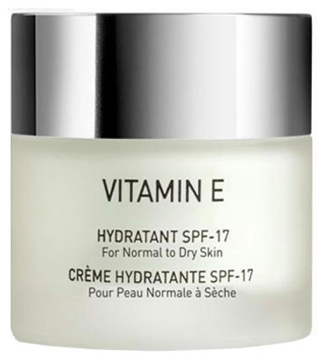 Крем для лица GIGI Vitamin E Увлажняющий для нормальной и сухой кожи SPF 17 50 мл фото
