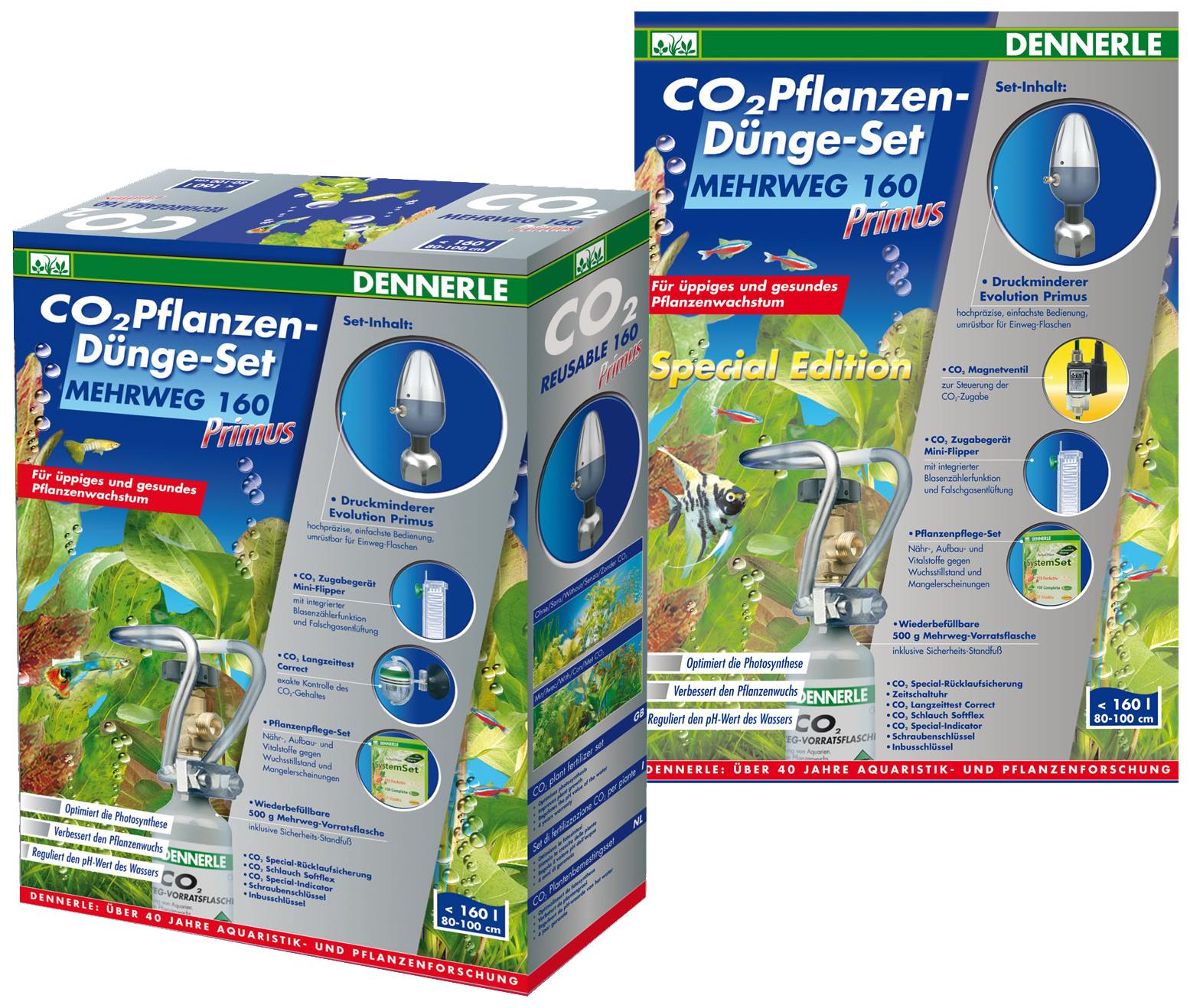 Система CO2 для аквариума MEHRWEG 160 Primus