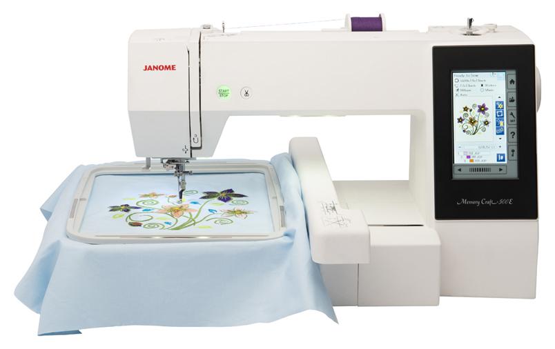 Швейная машина Janome Memory Craft 500E фото