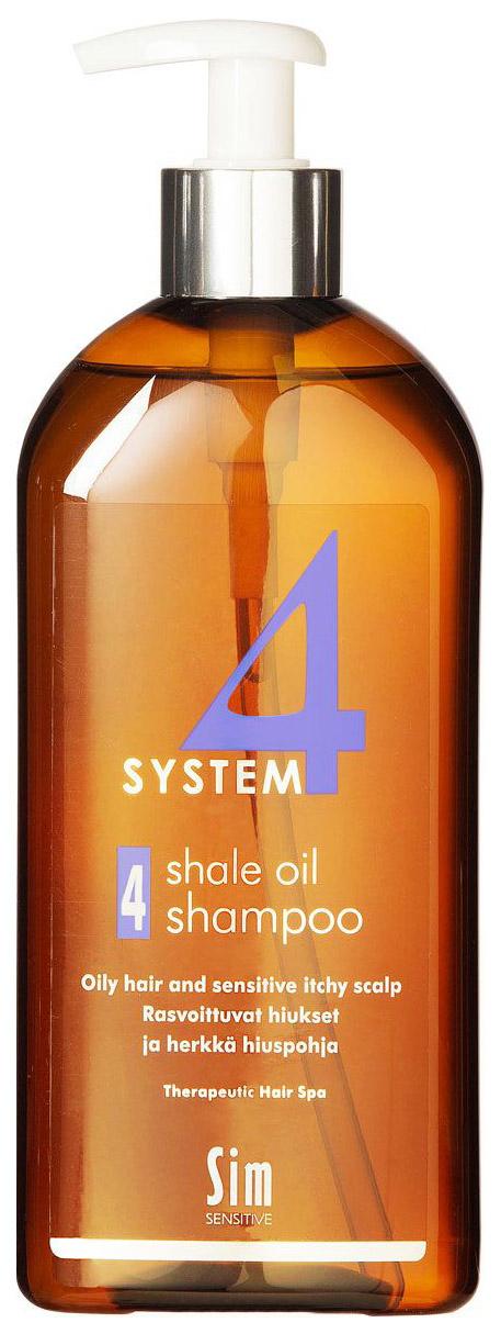 Купить Шампунь Sim Sensitive System 4 Therapeutic Shale Oil Shampoo 4, 500 мл, System 4 Therapeutic Climbazole Shampoo 4