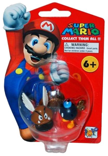 Купить Пара-боб, Фигурка персонажа Goldie Игрушка-фигурка Super Mario Пара-Боб NINF522PB, 6 см, серия 1, Игровые наборы