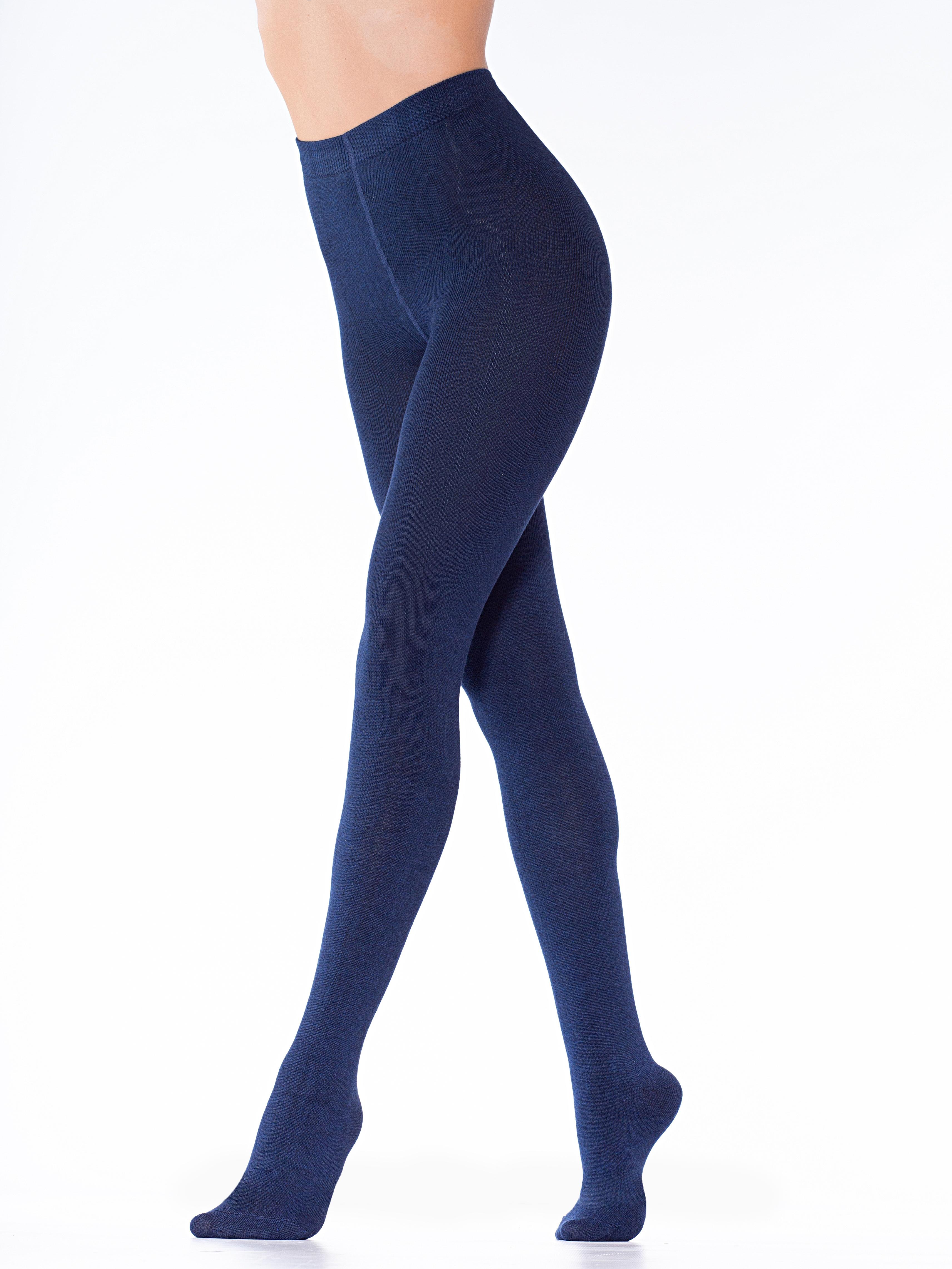 Колготки женские MiNiMi NOVITA 380 синие 3 (M) фото