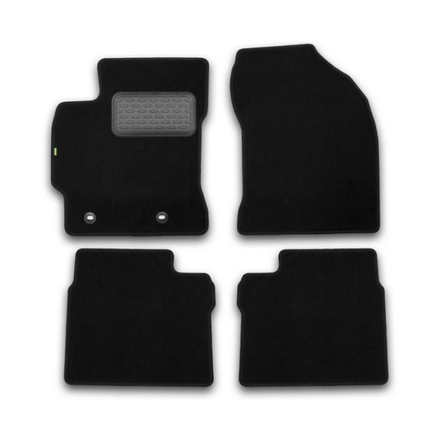 Коврики в салон Klever Standard для TOYOTA Corolla, 2007-2013, 4 шт. текстиль