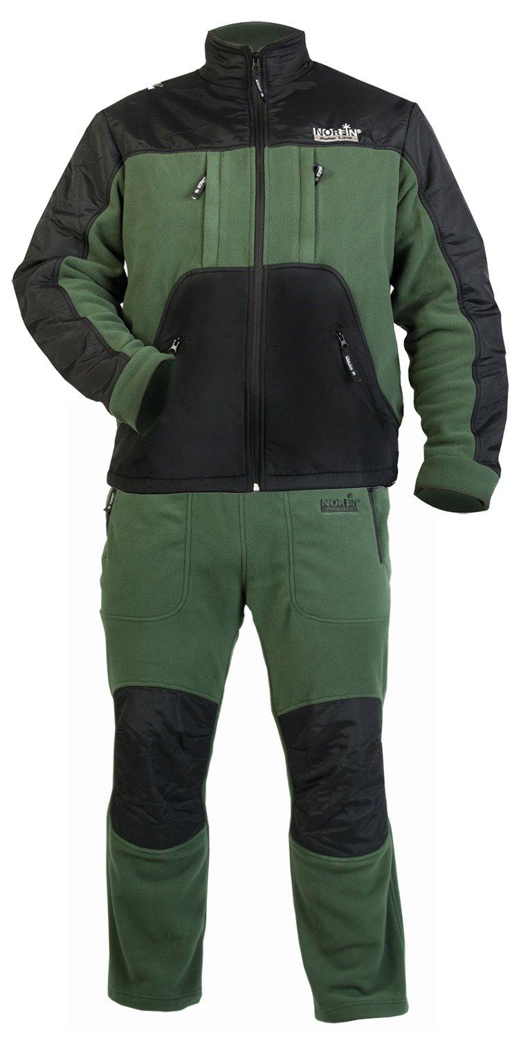 Спортивный костюм Norfin Polar Line 2, black/green,