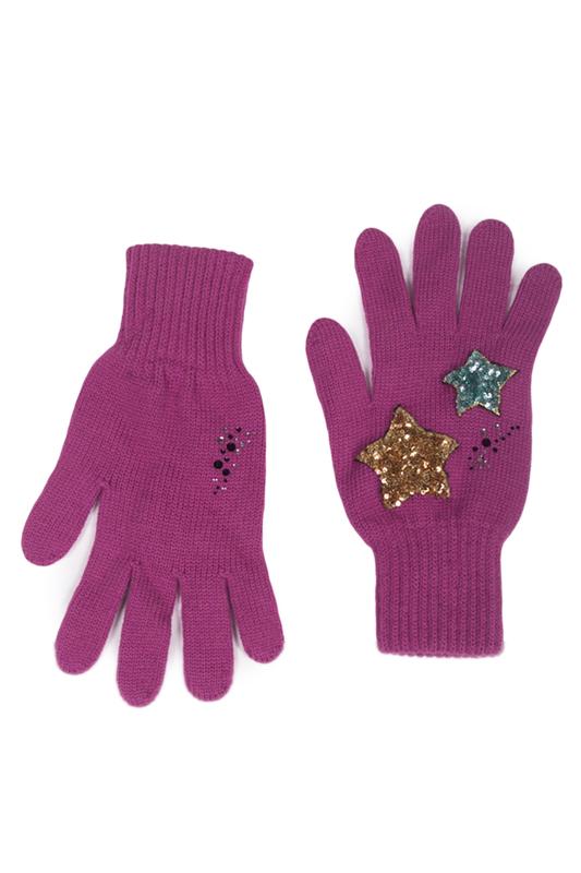 Перчатки женские Lak Miss PAL 7451 розовые ONE SIZE