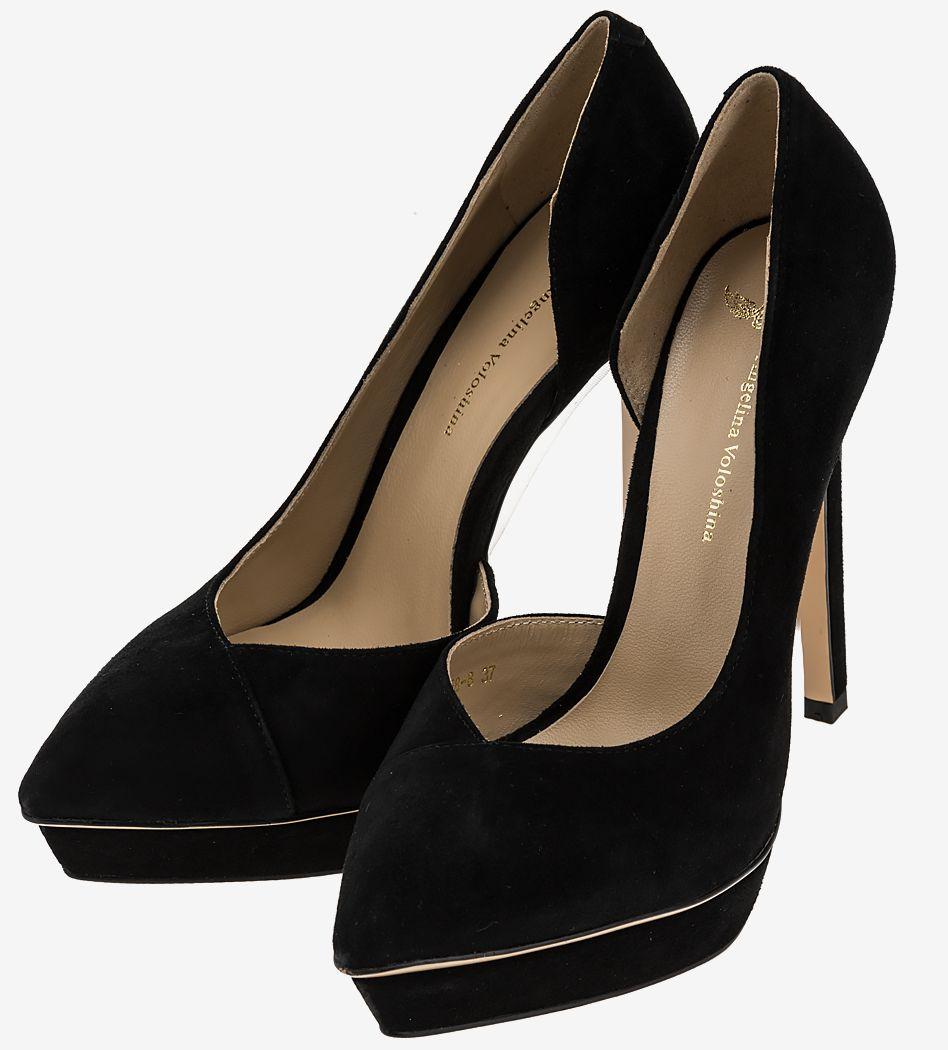 Туфли женские Angelina Voloshina черные