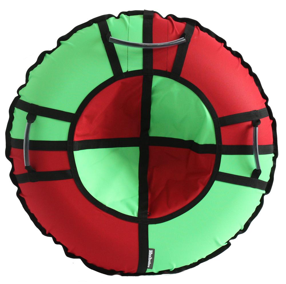 Тюбинг Hubster Хайп красный-салатовый 100 см