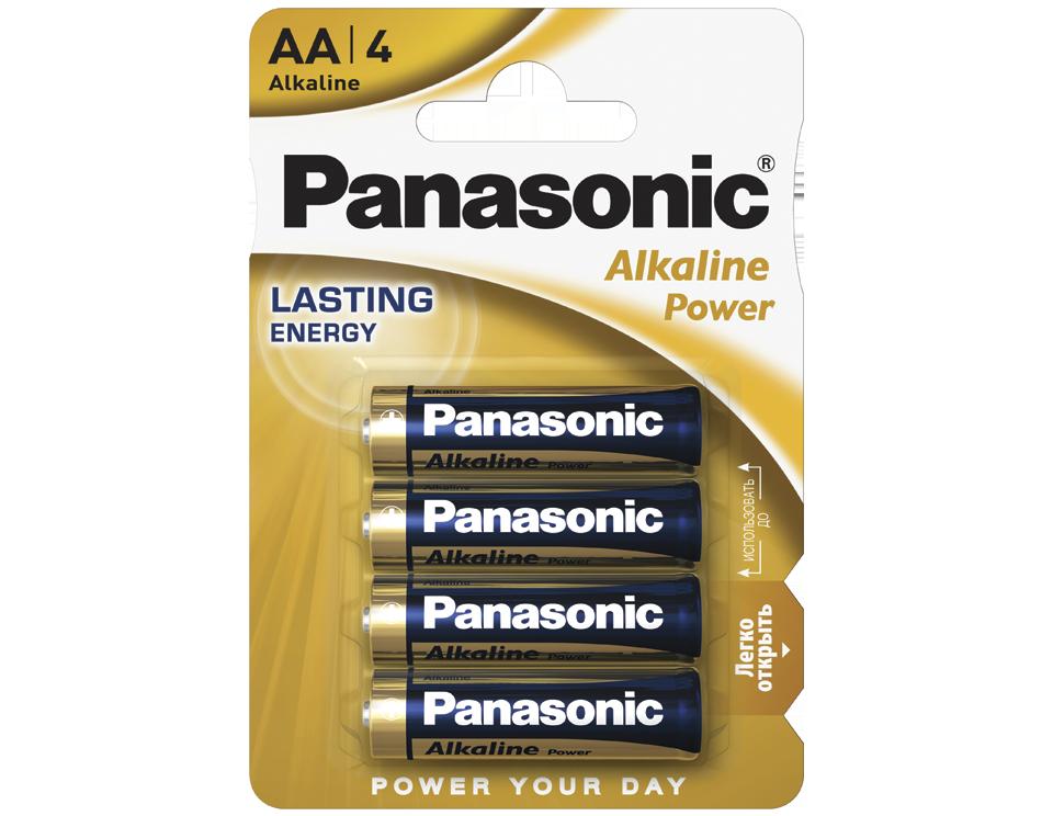 Батарейка Panasonic Alkaline Power LR6REB/4BPR 4 шт