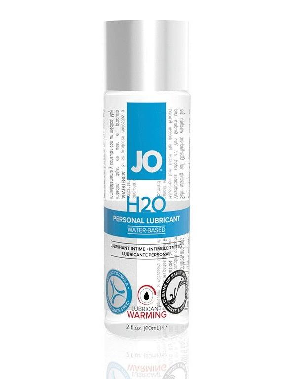 Купить Гель-смазка JO Personal Lubricant H2O Warming на водной основе 60 мл, System JO