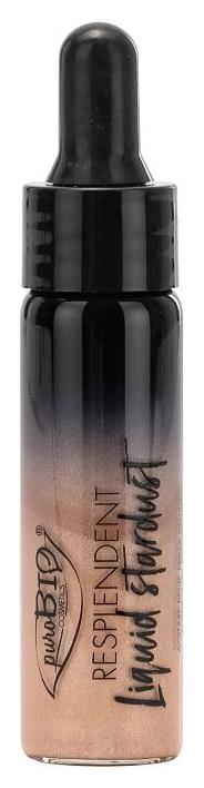 Хайлайтер PuroBio Resplendent Liquid Stardent 01 шампанское