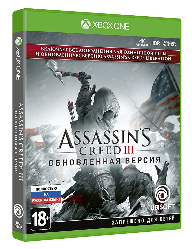 Игра Assassin's Creed III. Обновленная версия для Xbox One Ubisoft
