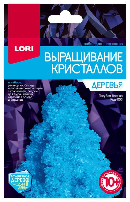 Купить LORI Набор для выращивания кристаллов Деревья. Голубая ёлочка Крд-003, Наборы для выращивания кристаллов