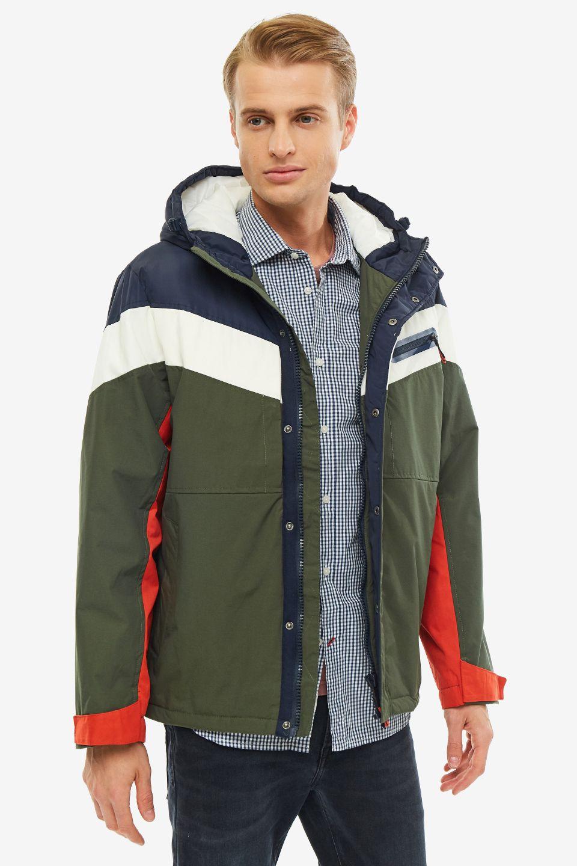 Куртка мужская Pepe Jeans PM402123.776 зеленая L