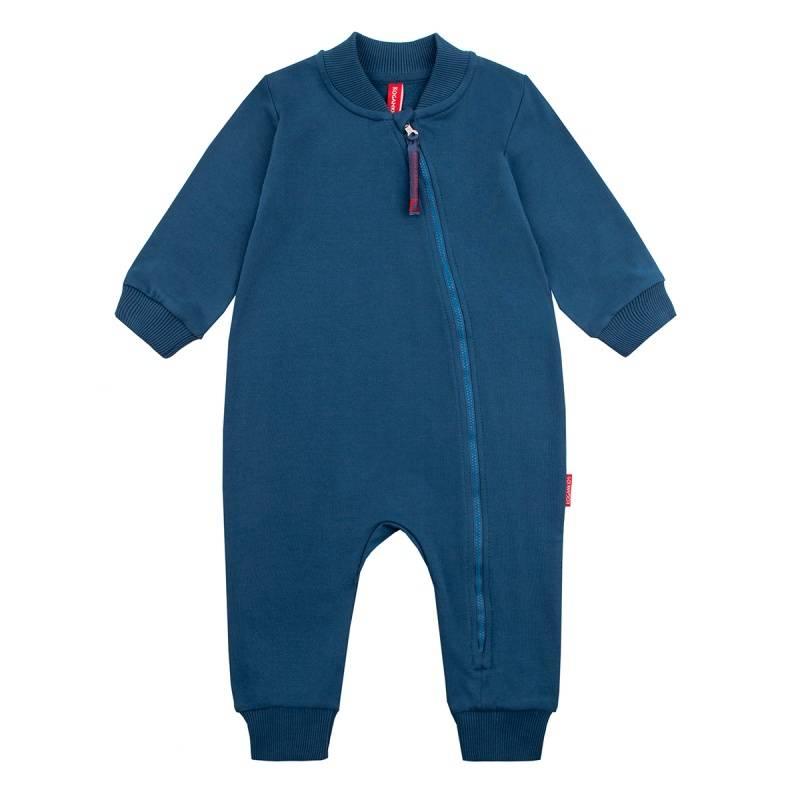 Купить Комбинезон KOGANKIDS, цв. синий, 62 р-р, Трикотажные комбинезоны для новорожденных