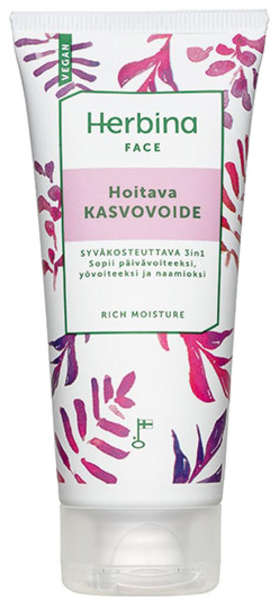 Крем для лица Herbina Глубокое увлажнение