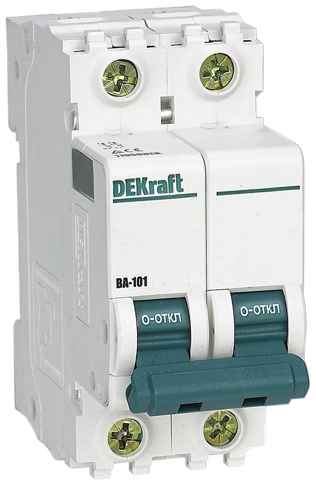 Автоматический выключатель DEKraft, арт. 11083DEK фото