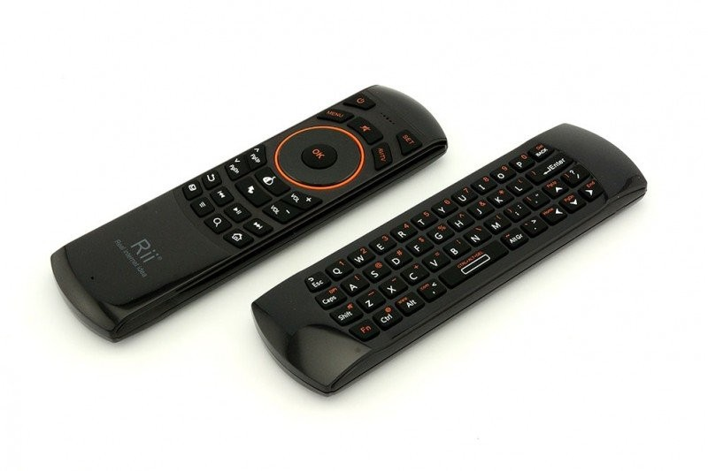 Беспроводная клавиатура Rii i25A Black (3410)
