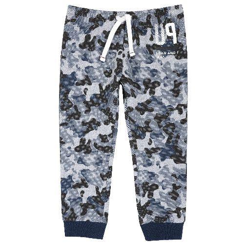 Купить 9094373, Брюки Chicco I can and will для мальчиков р.80 цв.темно-синий, Детские брюки и шорты