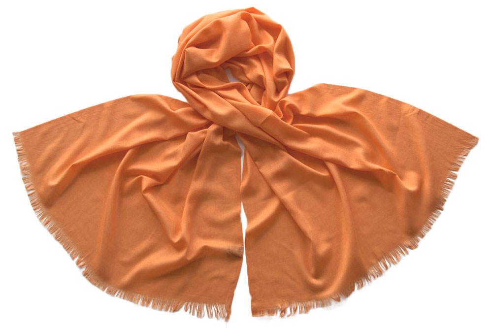 Палантин женский Tranini 1755 оранжевый