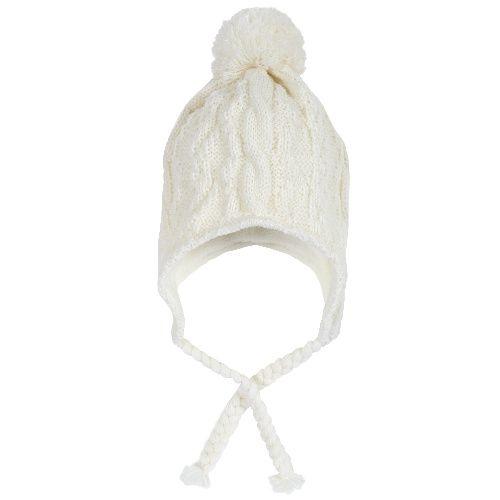 Купить Шапка Chicco для мальчиков и девочек р.1 цвет белый, Детские шапки