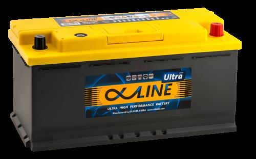 Аккумулятор ALPHALINE Ultra 61000 U PR 12В 110Ач 950CCA 393x175x190 мм Обратная (-+) фото