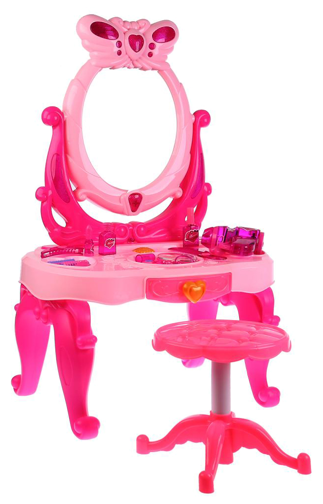 Туалетный столик, с аксессуарами и стульчиком B1360328