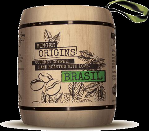 Кофе в зернах Minges Origins Brasil 250 г фото