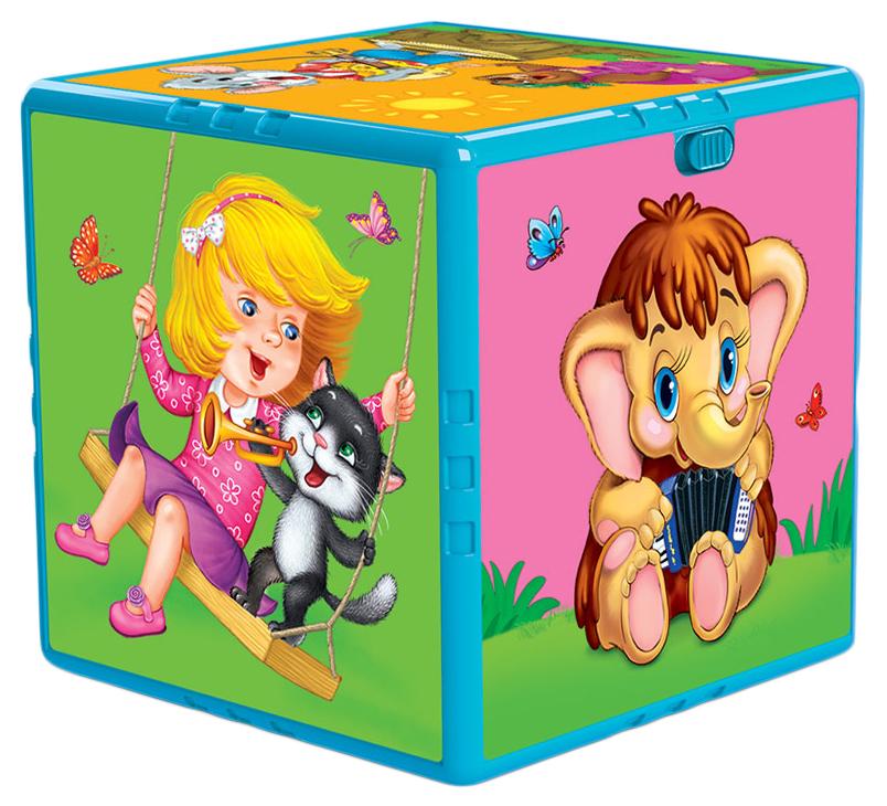 Купить Развивающая игрушка Азбукварик Говорящий кубик Любимые мультяшки,