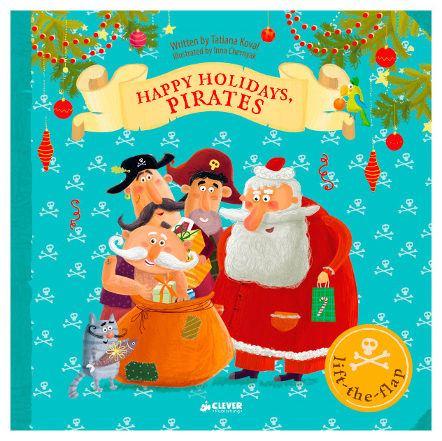 Книга CLEVER Clever books in english. Happy Holidays, Pirates фото