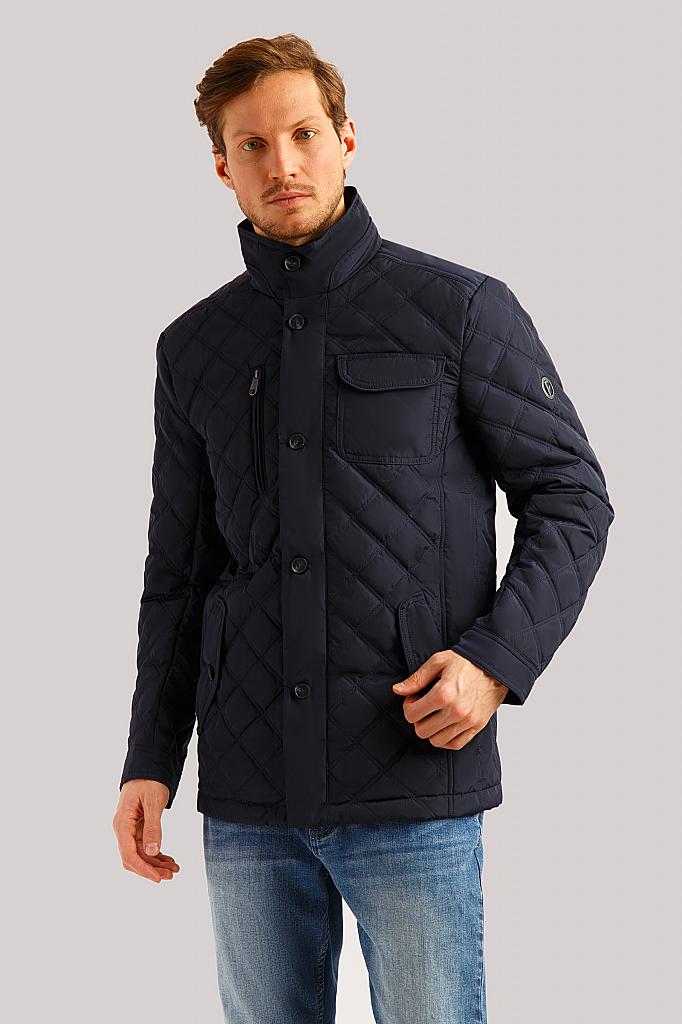 Куртка мужская Finn Flare B19-42006 синяя M фото