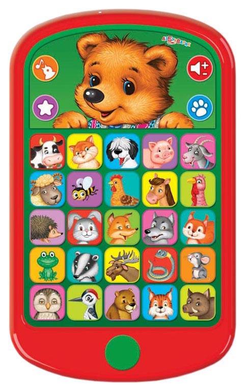 Интерактивная игрушка Азбукварик Мишутка и его друзья