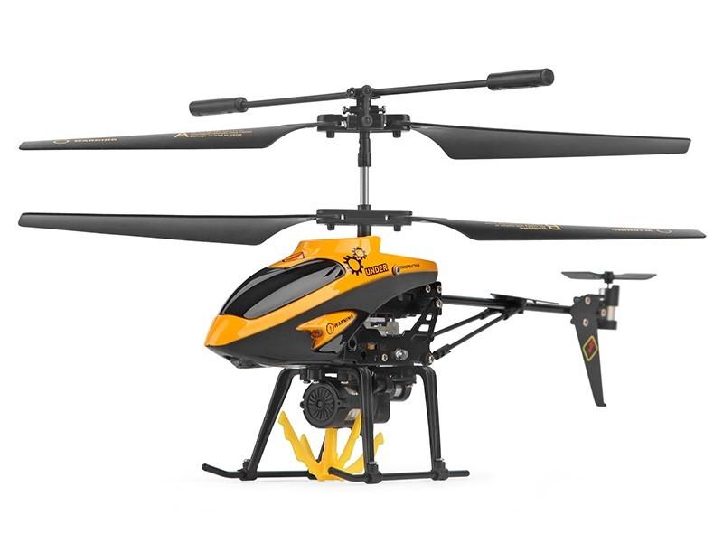 Вертолет с подъемным краном на р/у