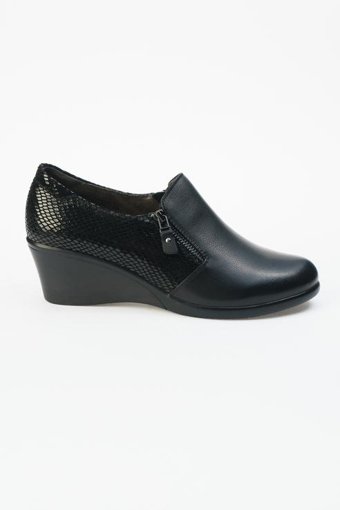 Туфли женские ZENDEN 104-30WE-003KT черные 41 RU фото