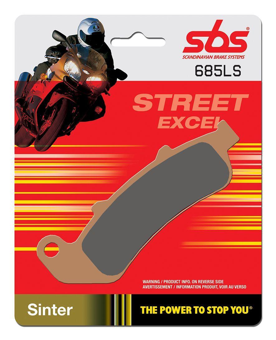 Тормозные колодки задние SBS 685LS для мотоциклов