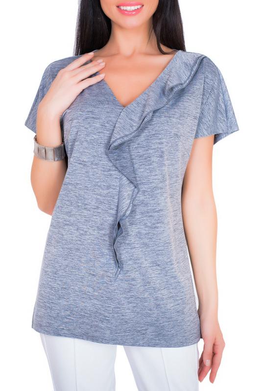 Блуза женская Argent ALBT8046 серая 54 RU