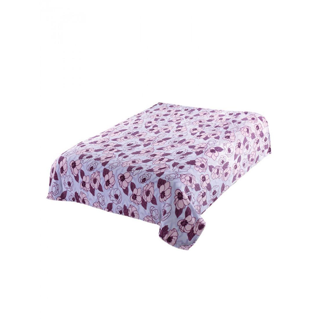 Плед Absolute trc550834 Сиреневые цветы 150x200 см, сиреневый/фиолетовый