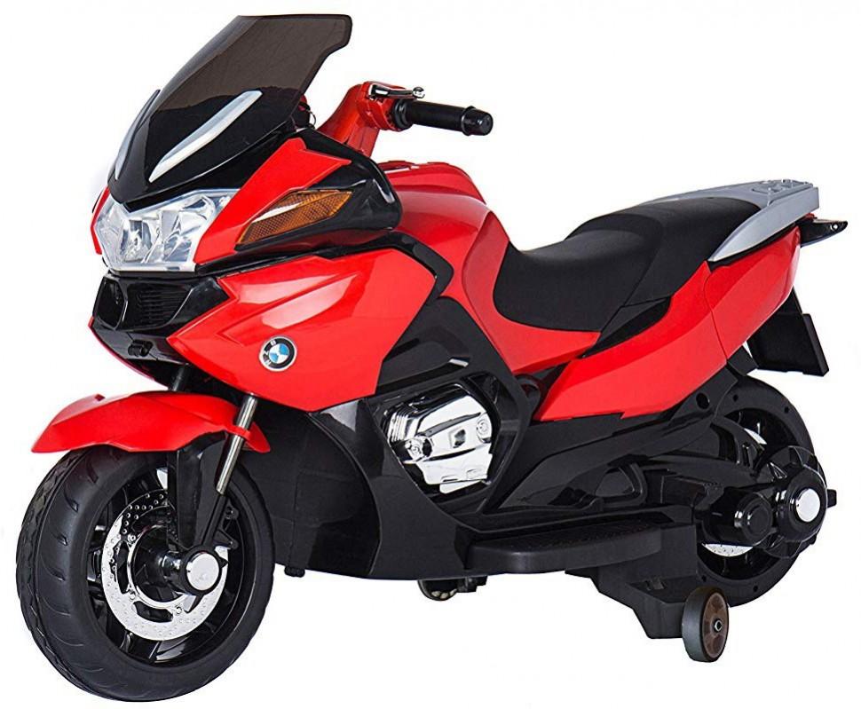 Купить Детский электромобиль мотоцикл BMW R1200RT Red 12V - HZB-118-RED,